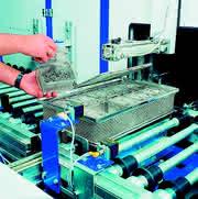 Werkstoffe: Logistik in der Teilereinigung