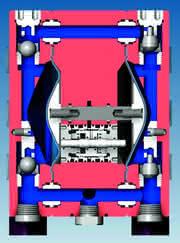 Druckluft-Membranpumpen der A-Serie: Das Saugvermögen einer Pumpe