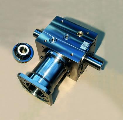 Getriebe für Servomotoren: Das Team: Motor plus Getriebe