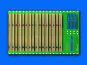 CompactPCI Switch Fabric Busplatine: Ethernet kombiniert mit CPCI
