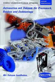 Druckschrift  Branchenlösungen Automobil: Vakuumtechnik im Automobilbau