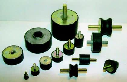 Gummi-Metall-Puffer: Strenge Lärmschutz-Auflagen