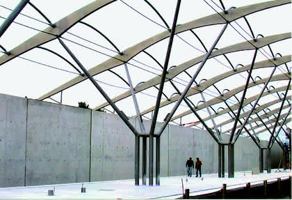 Stahlkonstruktionen: Stählerne Bäume