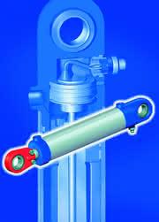 Hydraulikzylinder mit integriertem Wegmesssystem: In der gesamten Antriebstechnik