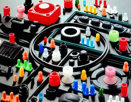 Silikon- und Polymerteile: Bunte Vielfalt