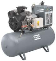 Kleine Kolbenkompressoren: Kleine Kolbenkompressoren mit kompletter Luftaufbereitung