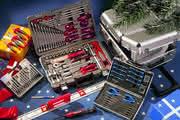 Werkzeugsortiment: Geschenktes Werkzeug