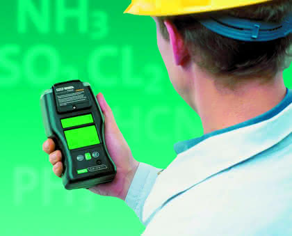 Mobile Gasmessung: Ein echtes Ein-Hand-Gerät