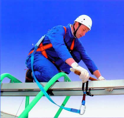 Absturzsicherungen: Sicherheit am Seil