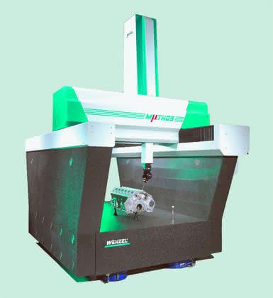 Verzahnungsmessgerät: Werkstatttaugliches 4-Achsen-Messgerät