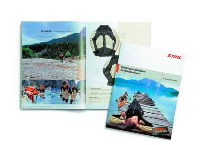 Outdoor-Katalog: Freizeit und Abenteuer