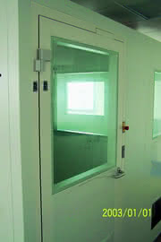 Schleusentür-Steuerungssystem: Welche Türe darf noch offen sein?