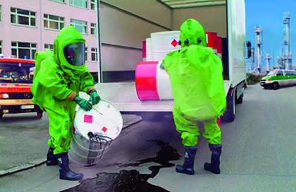 Chemikalien-Schutzanzug: Schutz vor Chemikalien