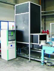 Prüf- und Sortierautomat: Die Design-Identifizierung