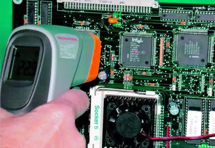 Wärmestrahlungsdetektoren: Sensible Elektronik