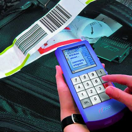 MDE-Terminal mit RFID-Modul: RFID-Handterminal