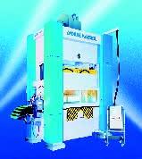 Stanz- und Umformautomat: Kombinierte  Stahl-Schweißkonstruktion