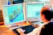 Konstruktionssoftware, Markiersystem, Sondermaschinenbau, Profilsystem, Materialfluss: Gravierendes  aus dem Baukasten
