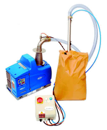 Klebstoffauftragsystem: Automatische Klebstoff-Nachfüllung spart Zeit