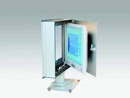 Steuergehäuse: Remote-Monitore in der Fertigung