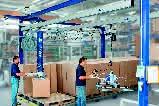 Aluminium-Krananlage: Leicht wie eine Feder
