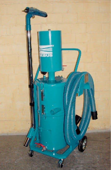Druckluft-Spänesauger: Für die Maschinenreinigung