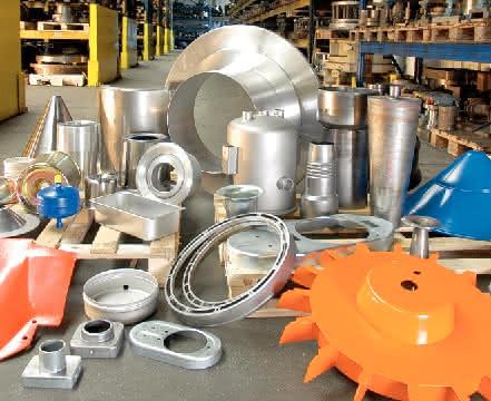 Blechformteile: Materialsparendes Verfahren