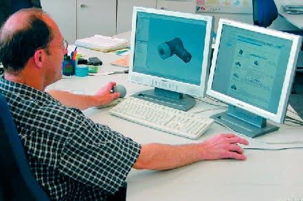 Konstruktions- und Engineering- Dienstleistungen: 3D-Bauteilebibliotheken