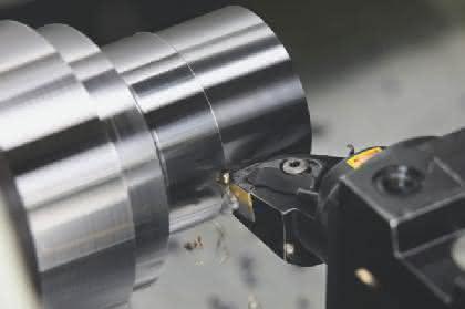 Wendeschneidplatte: Keine Kompromisse beim Drehen von Stahl
