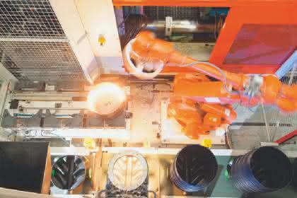 Infrarotstrahler: Infrarot-Wärme verbindet Kunststoffe