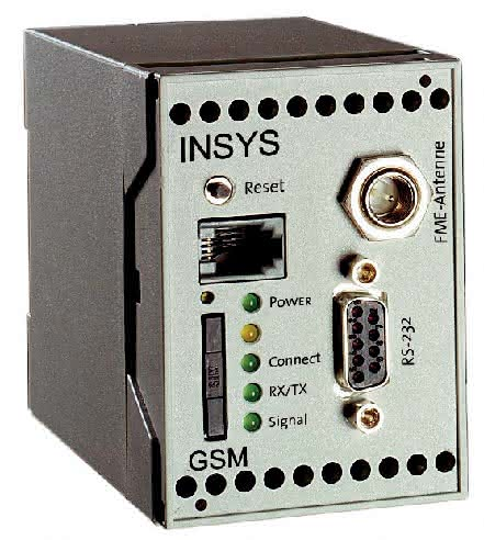 GSM-Modem: Vier digitale Alarmeingänge