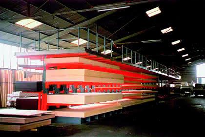 Lager und Logistik: Langholz