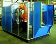 Robotertechnik/Schweißen: Kompaktzelle für Roboter