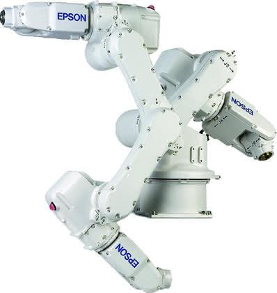 Robotertechnik: Sechs auf einen Streich