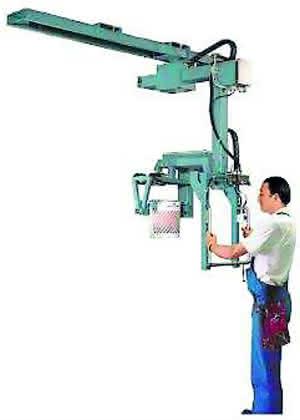 Handhabungstechnik: Deckenmanipulator halbiert Taktzeiten