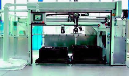 Handhabungstechnik: Vollautomatisch verpackt