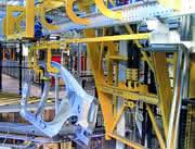 Automotive Assembly: Fertige Rohkarosserien