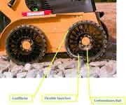 Automotive Parts: Luftlos bereift