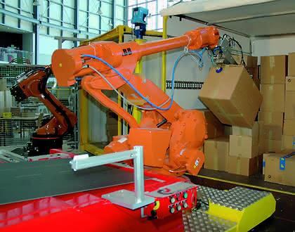 Robotertechnik: Etliche Tonnen
