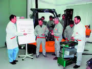 Flurförderzeuge: Kompetenter Service freut Kunden