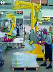 Handhabungstechnik: Schwere Folienrollen