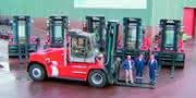 Flurförderzeuge: 65.000 Tonnen Stahl