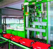 Handhabungstechnik: Behälter- und Papierhandling mit Durchsatz