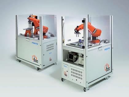 Robotertechnik: Robotrain