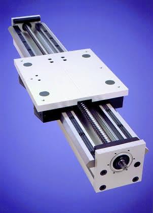 Lineartechnik: Hochleistungs-Kugelspindeleinheit
