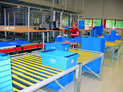 Material Handling: Behälter statt Einwegverpackungen