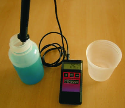 Temperiertechnik: Präzise Handthermometerserie