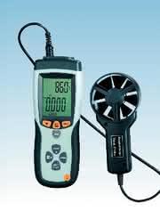 Flügelrad-Anemometer VA893: Luftströmung einfach messen