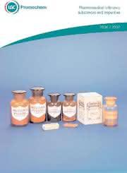"Katalog ""Pahrmaceutical Reference Substances and Impurities"": Brauchen Sie Referenzen?"