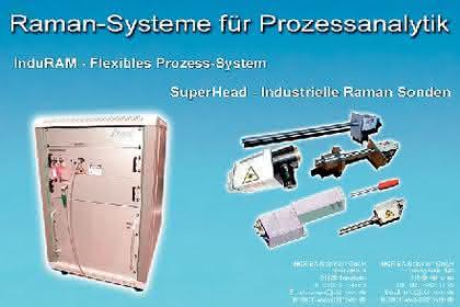Raman-Systeme: Raman-Spektroskopie  in der Prozesssteuerung